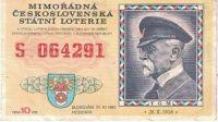Mimořádná československá státní loterie