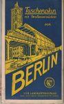 Stadtplan von Berlin - mapa města