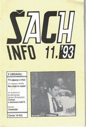 Šach info 11/1993