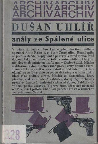 Anály ze Spálené ulice - D. Uhlíř