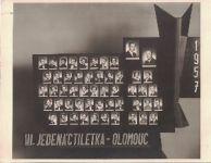 Tablo - III. jedenáctiletka Olomouc Hejčín 1957