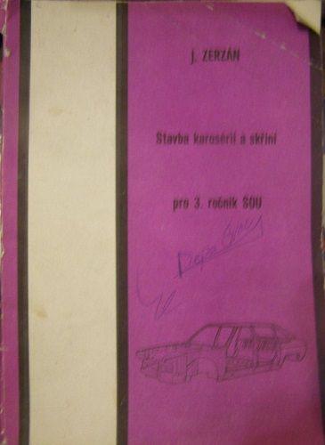 Stavba karoserií a skříní - J. Zerzán