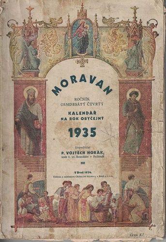 Moravan 1935 - kalendář