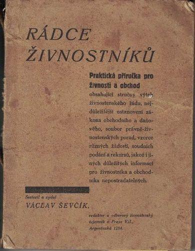 Rádce živnostníka - V. Ševčík