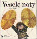 Veselé noty - Jiří Havel. il. K. Franta - podpis Ilja Hurník