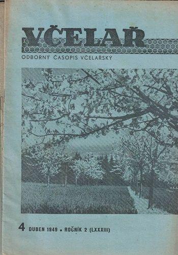 3 x Včelař 1949
