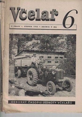 4 x Včelař 1952 + bonus