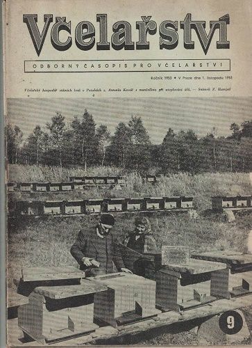 4 x Včelařství 1953