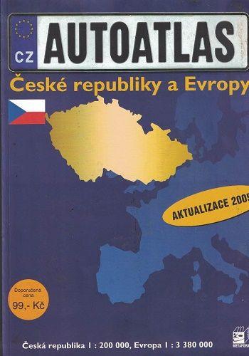 Autoatlas České republiky a Evropy