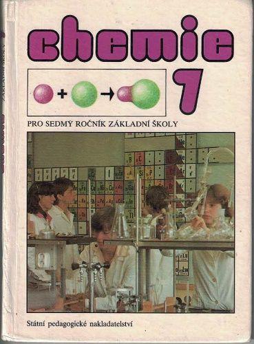 Chemie 7 - pro 7. třídy ZŠ r. 1990