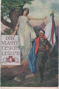 Dík vlasti českým legiím - legie
