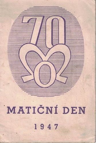 Matiční den 1947 - Opava