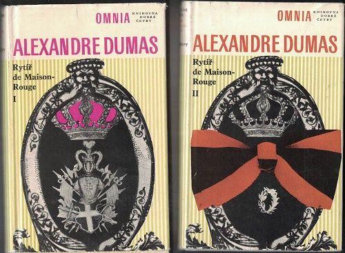 Paměti lékařovy - Rytíř de Maison-Rouge 1 a 2 - A. Dumas