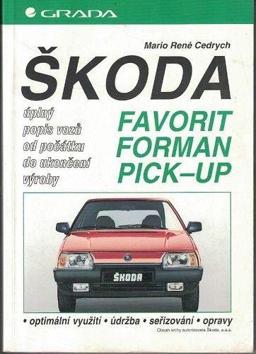 Škoda Favorit, Forman, Pick-up - M. Cedrych