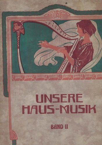 Unsere Haus-Musik I., II. a III. - pianoforte pro 2 ruce