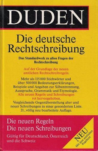 Duden 1 Die deutsche Rechtschreibung