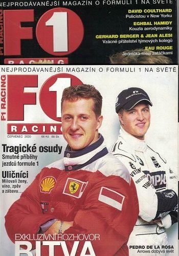 F1 racing 7 a 10/2000 - Michael a Ralf Schumacher
