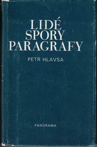 Lidé, spory, paragrafy - P. Hlavsa