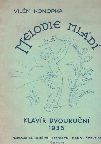 Melodie mládí (klavír dvouruční) - V. Konopka