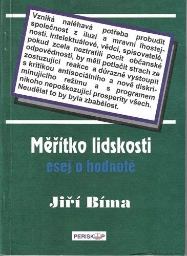 Měřítko lidskosti - Jiří Bíma