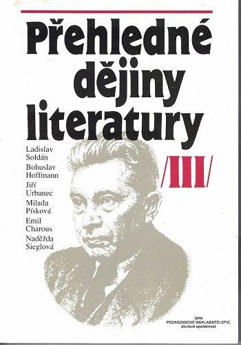 Přehledné dějiny literatury III. - od r. 1945 do současnosti
