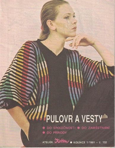 Pulovr a vesty - pletení
