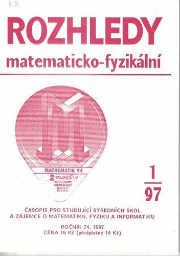 Rozhledy matematicko-fyzikální 1 - 6/1997 - kompletní ročník