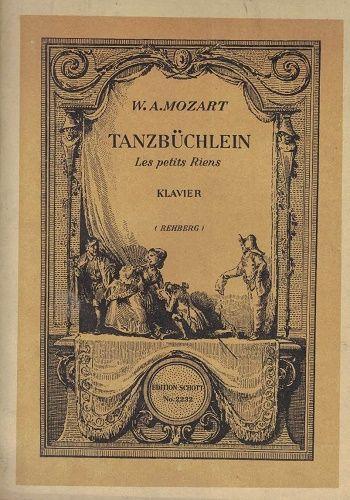 Tanzbüchlein (pro klavír) - W. A. Mozart