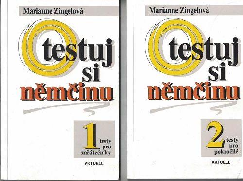 Testuj si němčinu 1 a 2 - M. Zingelová