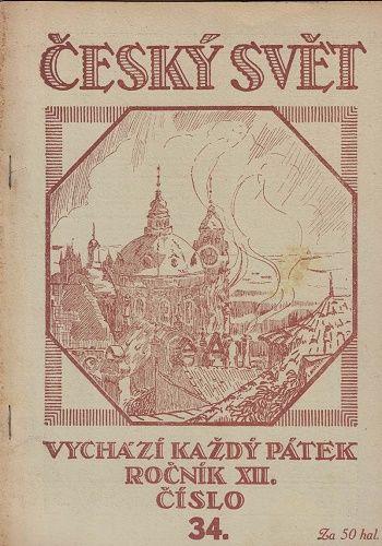 3 x Český svět 1916 - čísla 34, 36 a 45