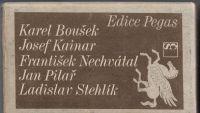 5 x český básník - J. Kainar, L. Stehlík, F. Nechvátal, J. Pilař, K. Boušek