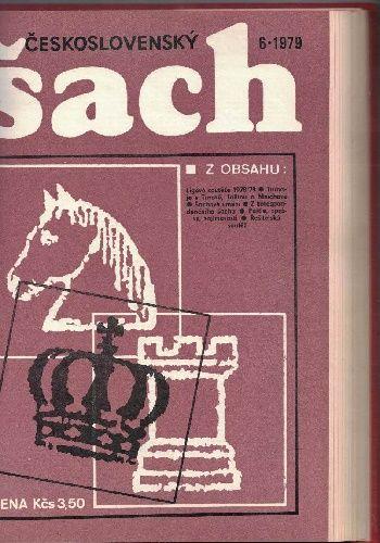 Československý šach 1978 a 1979 - svázáno (dva kompletní ročníky)