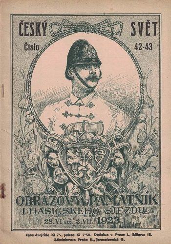Český svět 42-43/1923 - Obrazový památník I. hasičského sjezdu