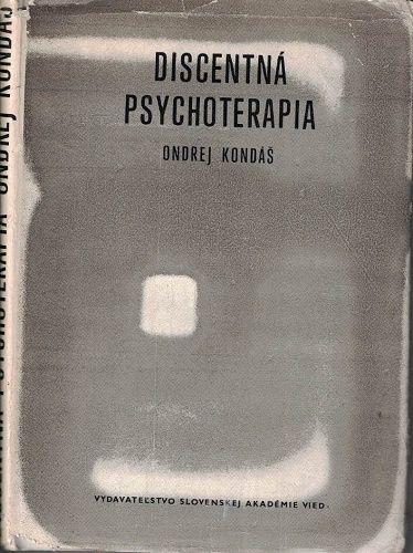 Discentná psychoterapia - O. Kondáš
