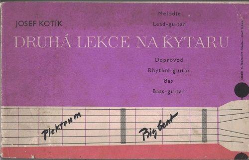 Druhá lekce na kytaru - Josef Kotík
