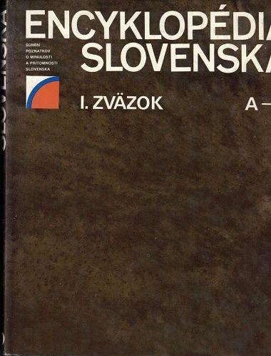 Encyklopédia Slovenska I. - A-D