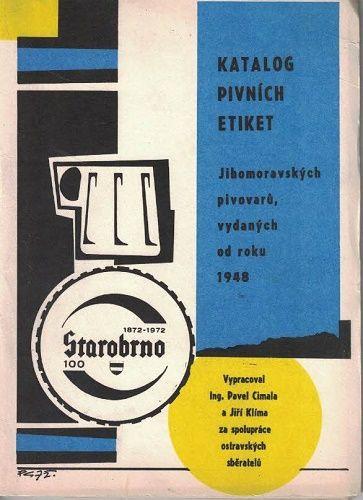Katalog pivních etiket jihomoravských pivovarů od roku 1948 - Cimala, Klíma