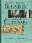 Lesnický a dřevařský anglicko-český a česko-anglický slovník - B. Horák
