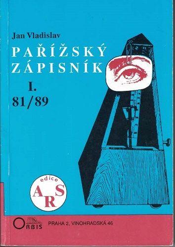 Pařížský zápisník I. - Jan Vladislav