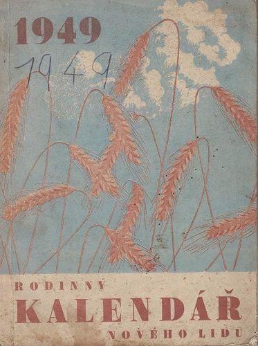 Rodinný kalendář Nového lidu 1949