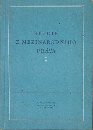 Studie z mezinárodního práva I. a II.