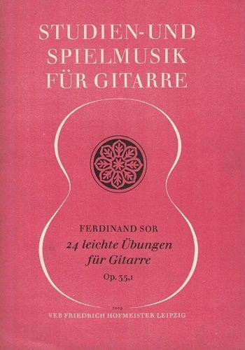 Studien und Spielmusik für Gittare - Ferdinand Sor