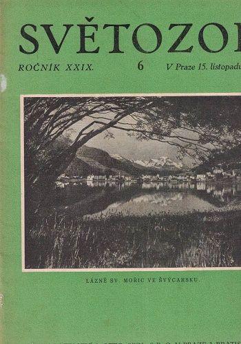 Světozor č. 6 z roku 1928