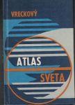 Vreckový atlas sveta - kapesní atlas světa - slovensky