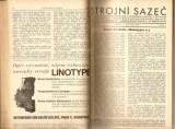 Strojní sazeč 1930 - 1936 - svázáno