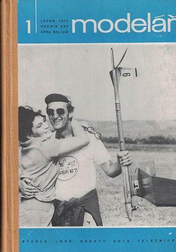 Modelář 1974 - svázáno