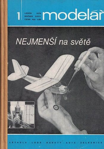 Modelář 1976 - svázáno