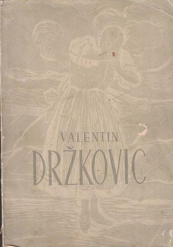 Valentin Držkovic (podpis) 1888 - 1948 - sborník k 60. narozeninám