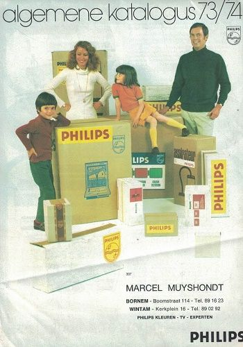 Katalog Philips 1973/74 (německy) - gramofony, stereo, radio atd.