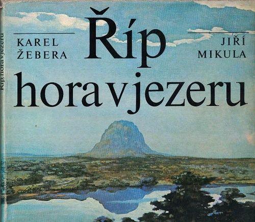 Říp, hora v jezeru - K. Žebera